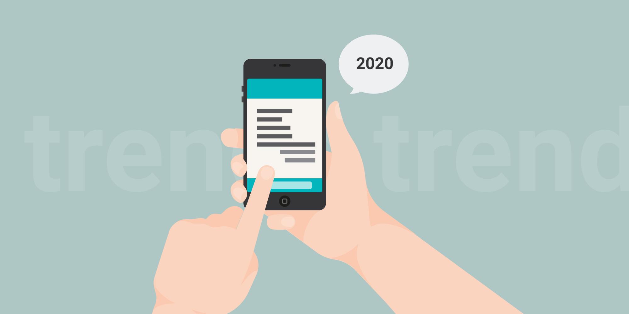 11 тенденций мобильной разработки в 2020 году
