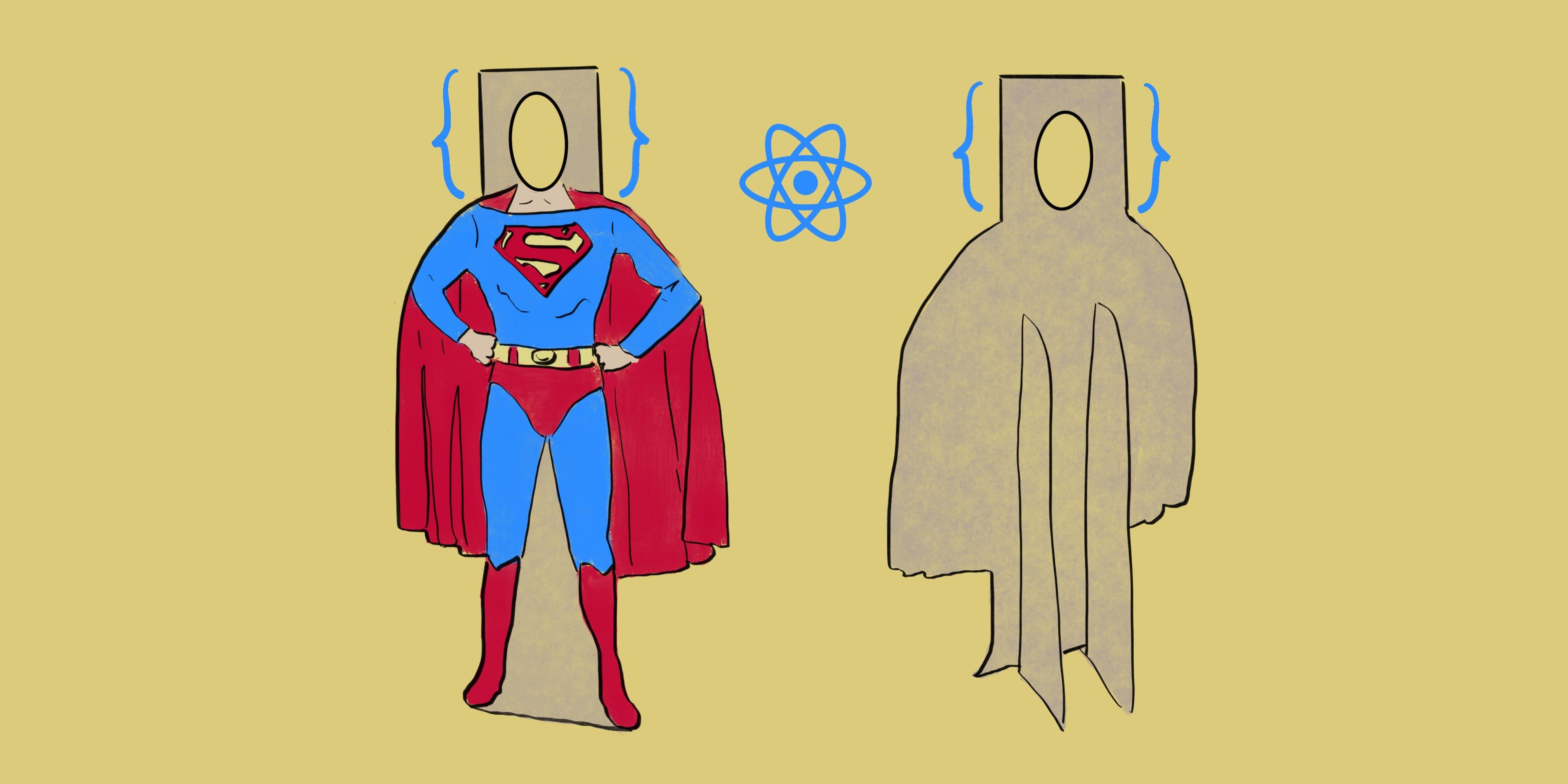 Суперменом может стать каждый: разделяем дизайн и данные в React