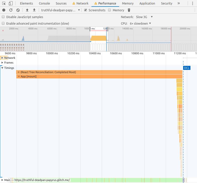 "Рис. 26. Раздел Timings на вкладке <code class=""inline-code"">Performance</code>"