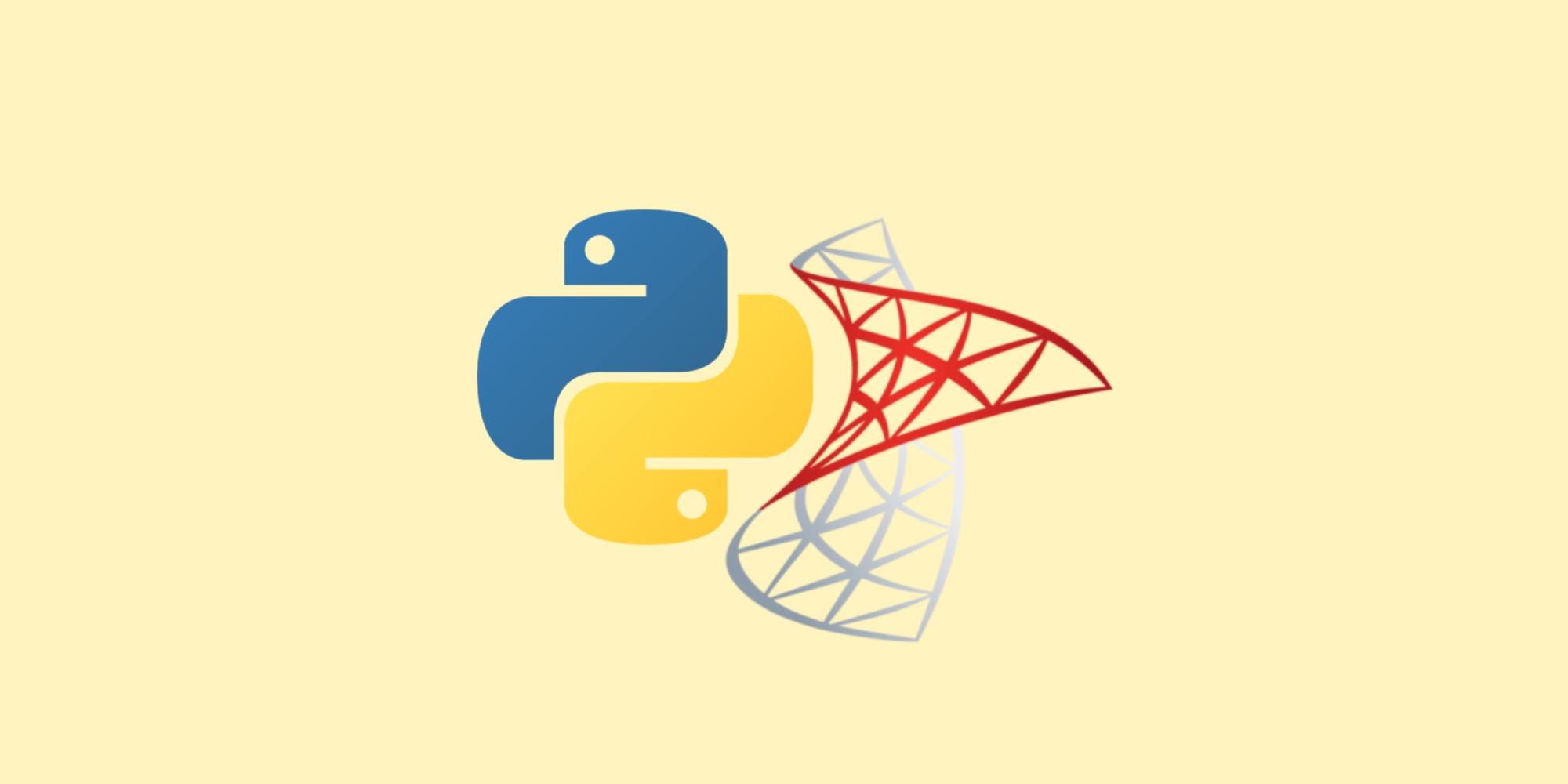 Работаем с SQL Server с помощью Python