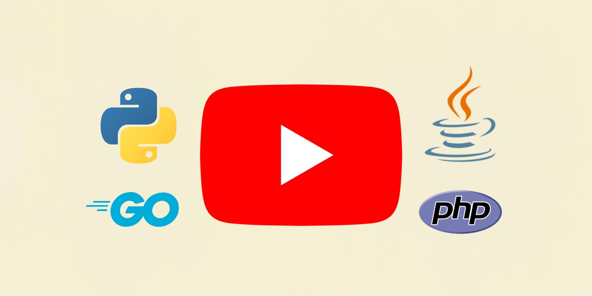 50 русскоязычных YouTube-каналов о языках программирования
