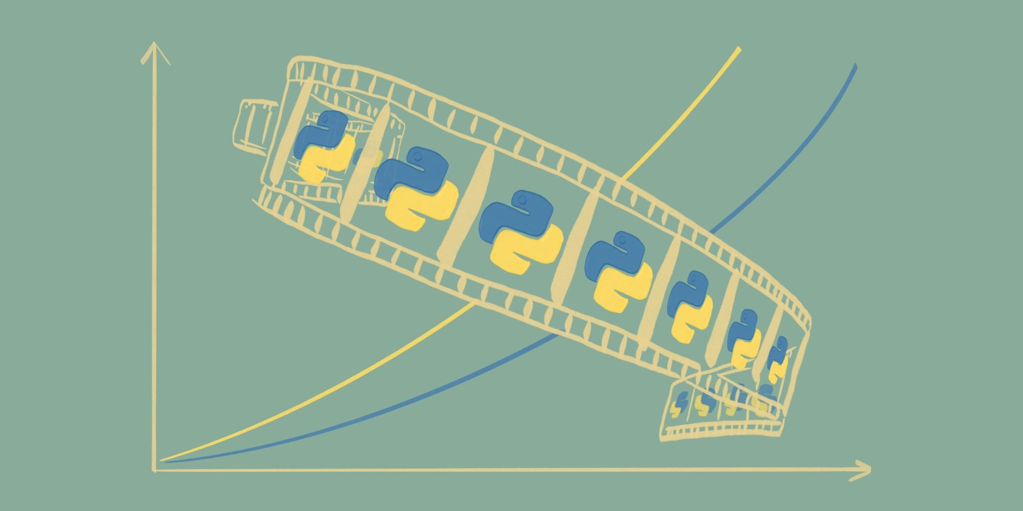 Анимация графиков в Python за 4 шага