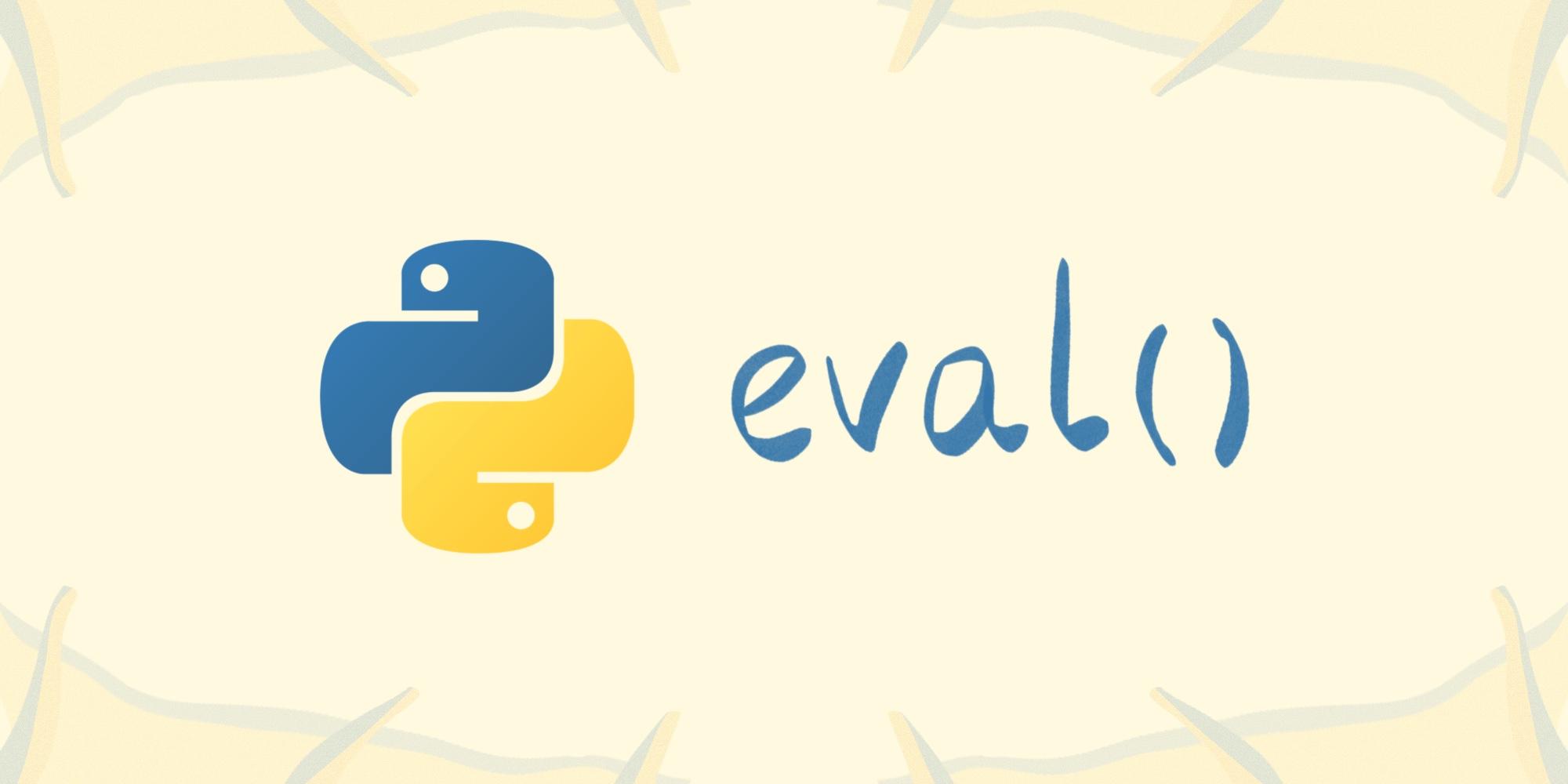 Динамическое выполнение выражений в Python: eval()