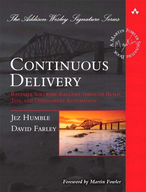 """<a href=""""https://www.amazon.de/Continuous-Delivery-Deployment-Automation-Addison-Wesley/dp/0321601912"""" target=""""_blank"""" rel=""""noopener noreferrer nofollow"""">Humble J., Farley D. Continuous Delivery: Reliable Software Releases through Build, Test, and Deployment Automation</a>"""