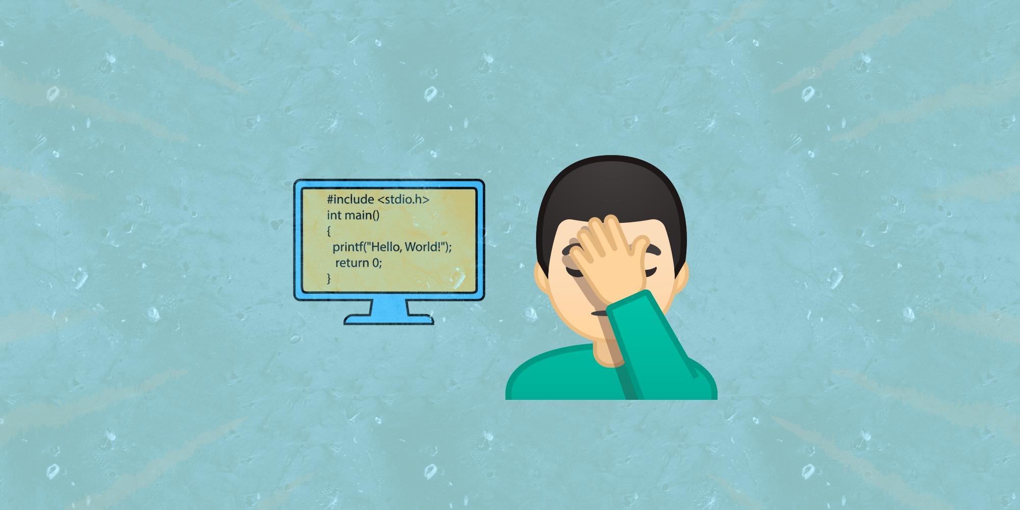 🐛 ТОП-7 признаков неопытного программиста
