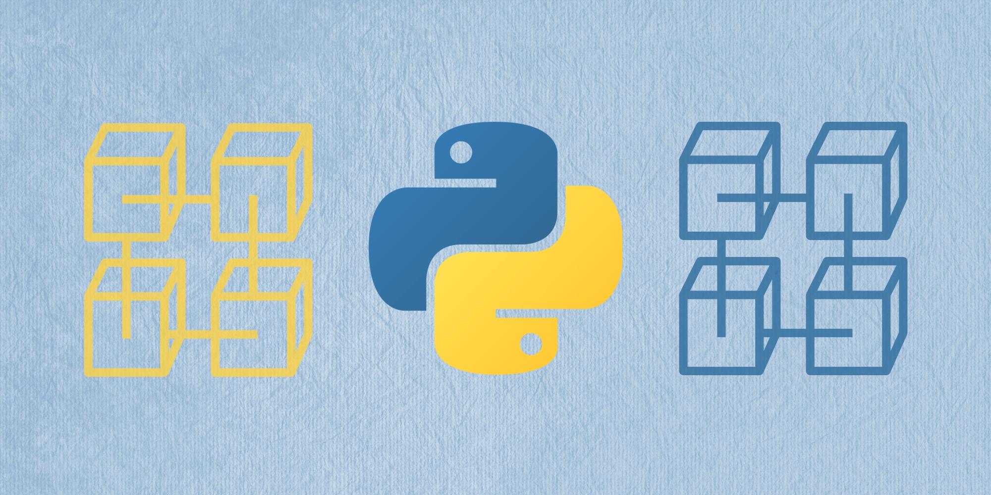 🐍 Как Python применяется в блокчейн