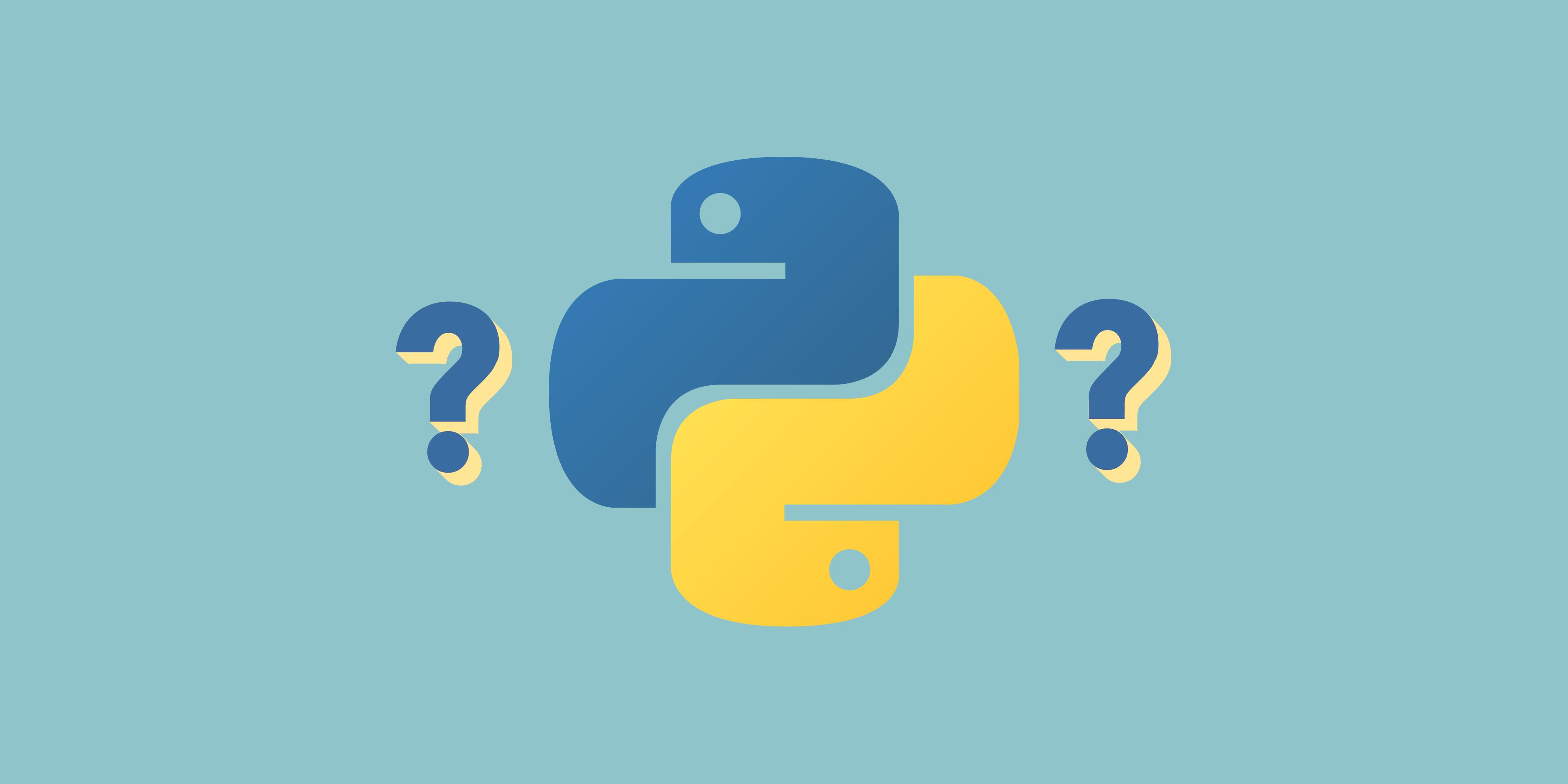 🐍 Тест на знание  языка Python