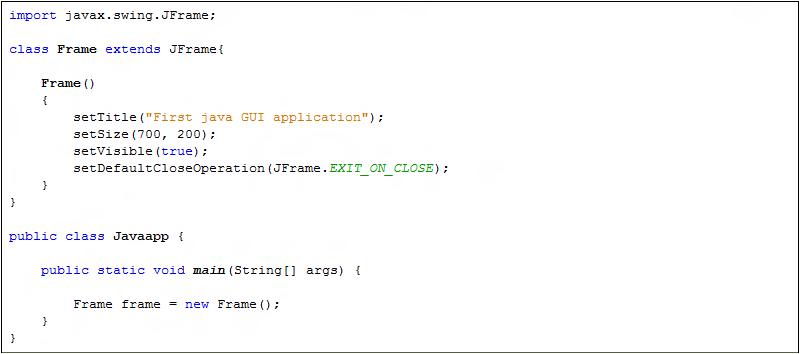 extends Java