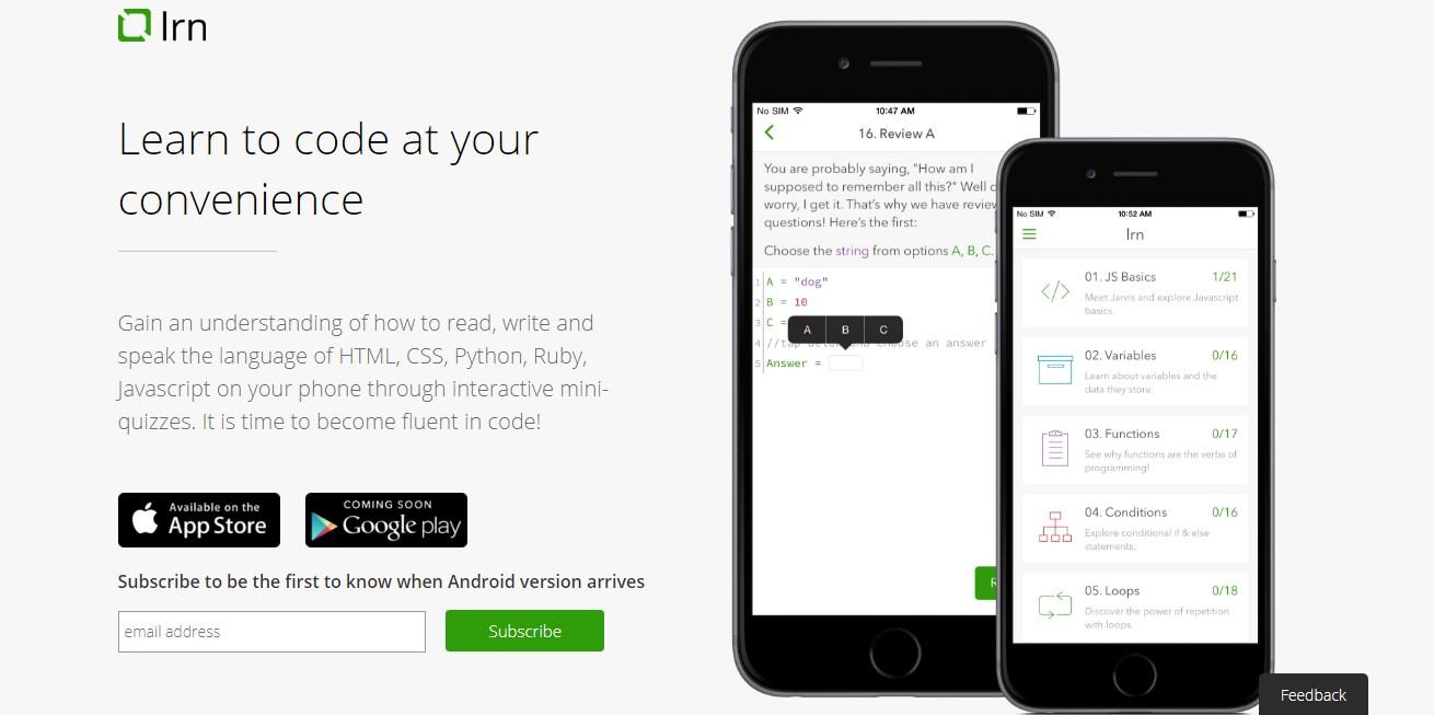 10 мобильных приложений, которые научат вас программировать