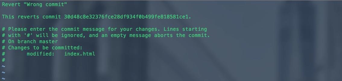 Как отменить последний Git-коммит