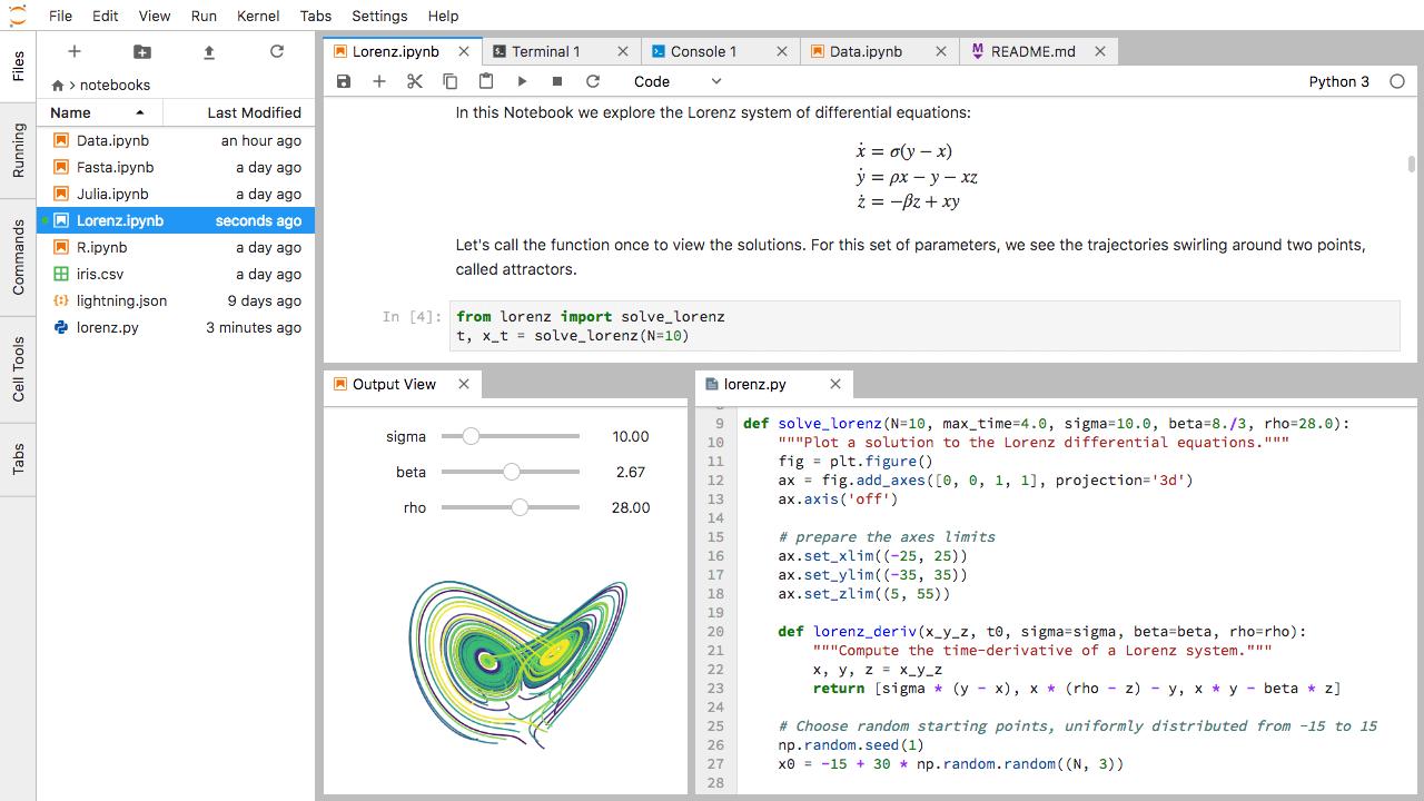 JupyterLab и Jupyter Notebook — мощные инструменты Data Science