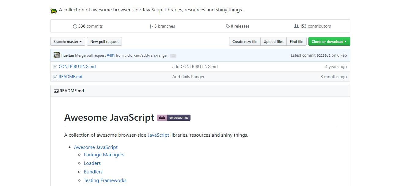 JavaScript: рассматриваем готовые наработки для сайтов