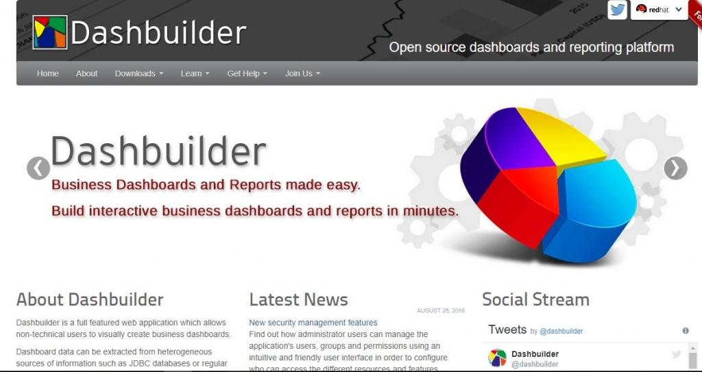 framework dashbuilder