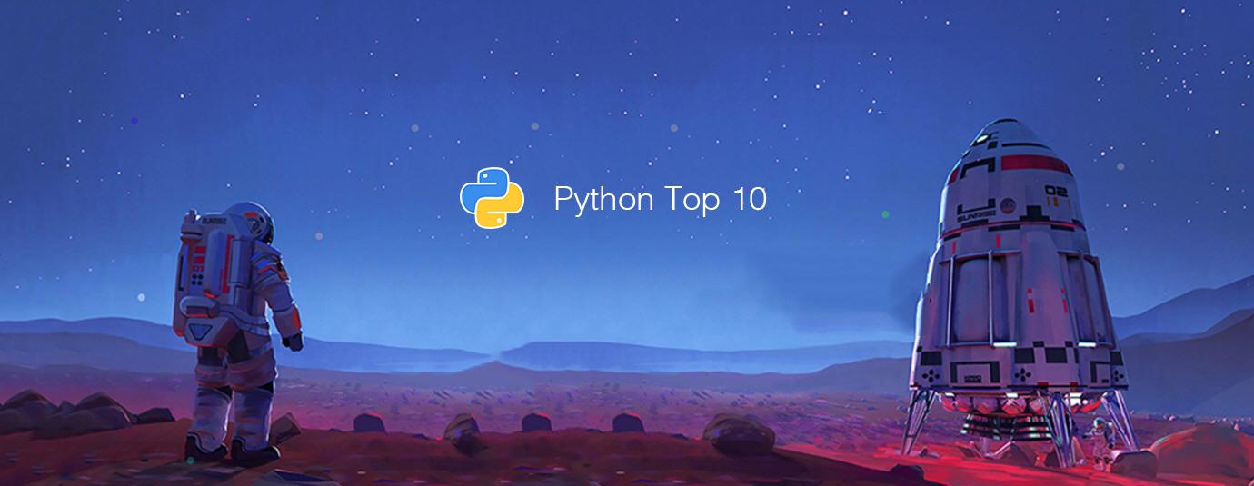 ТОП-10 английских публикаций по Python за последний месяц