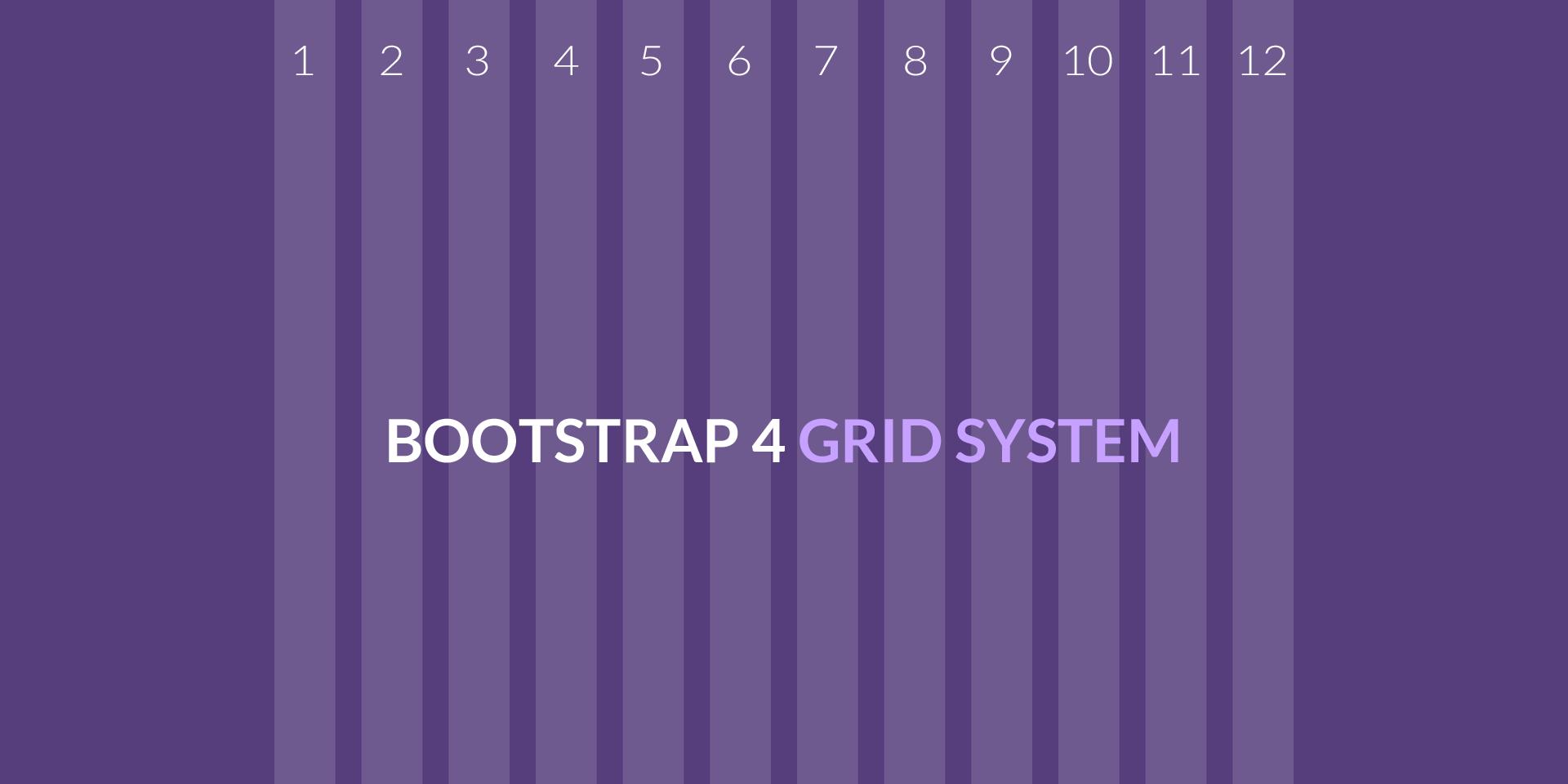 Использование сетки в Bootstrap 4