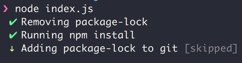 Простое CLI приложение для Node.JS: модуль Listr