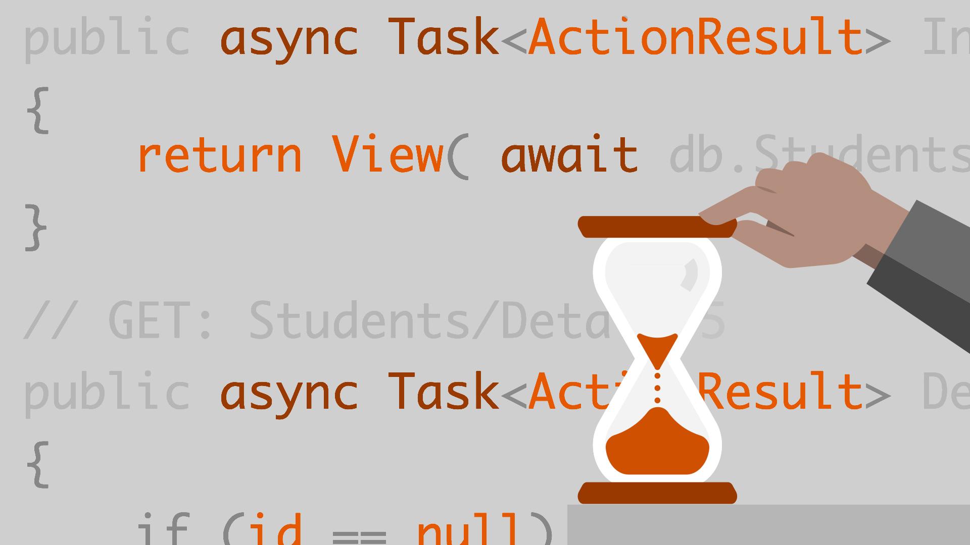 асинхронное программирование в C#