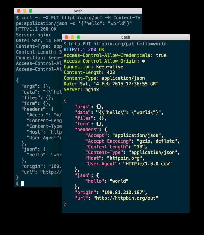 Python HTTPie