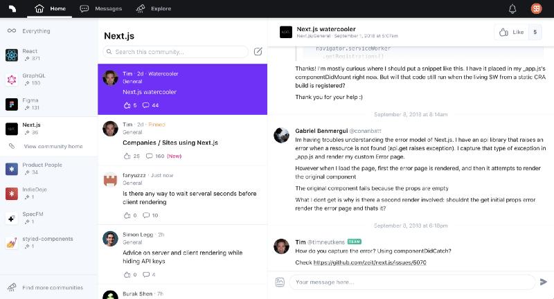 Spectrum становится все более популярным по сравнению с чатами и традиционными форумами