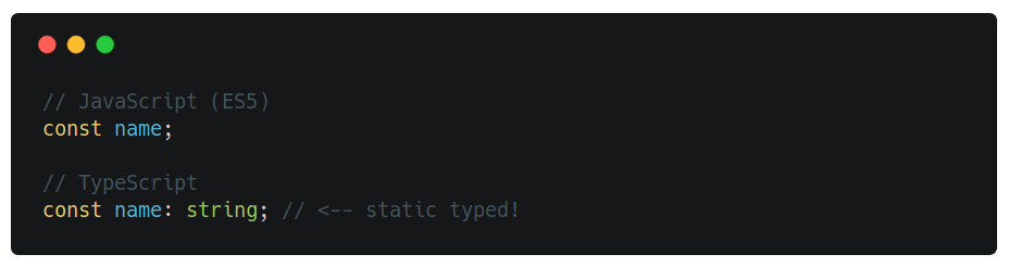 static typed property