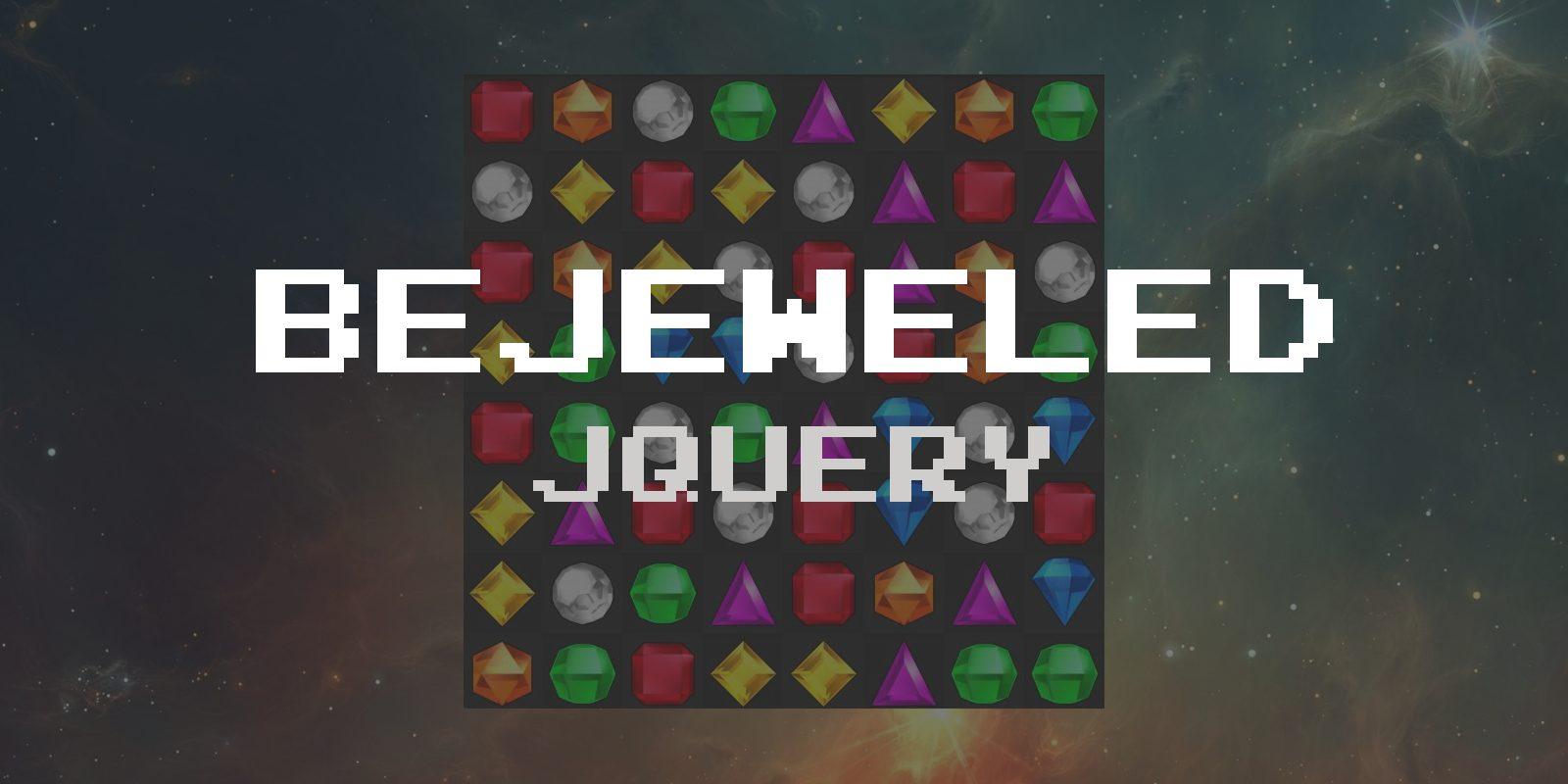 Легендарная Bejeweled своими руками на jQuery