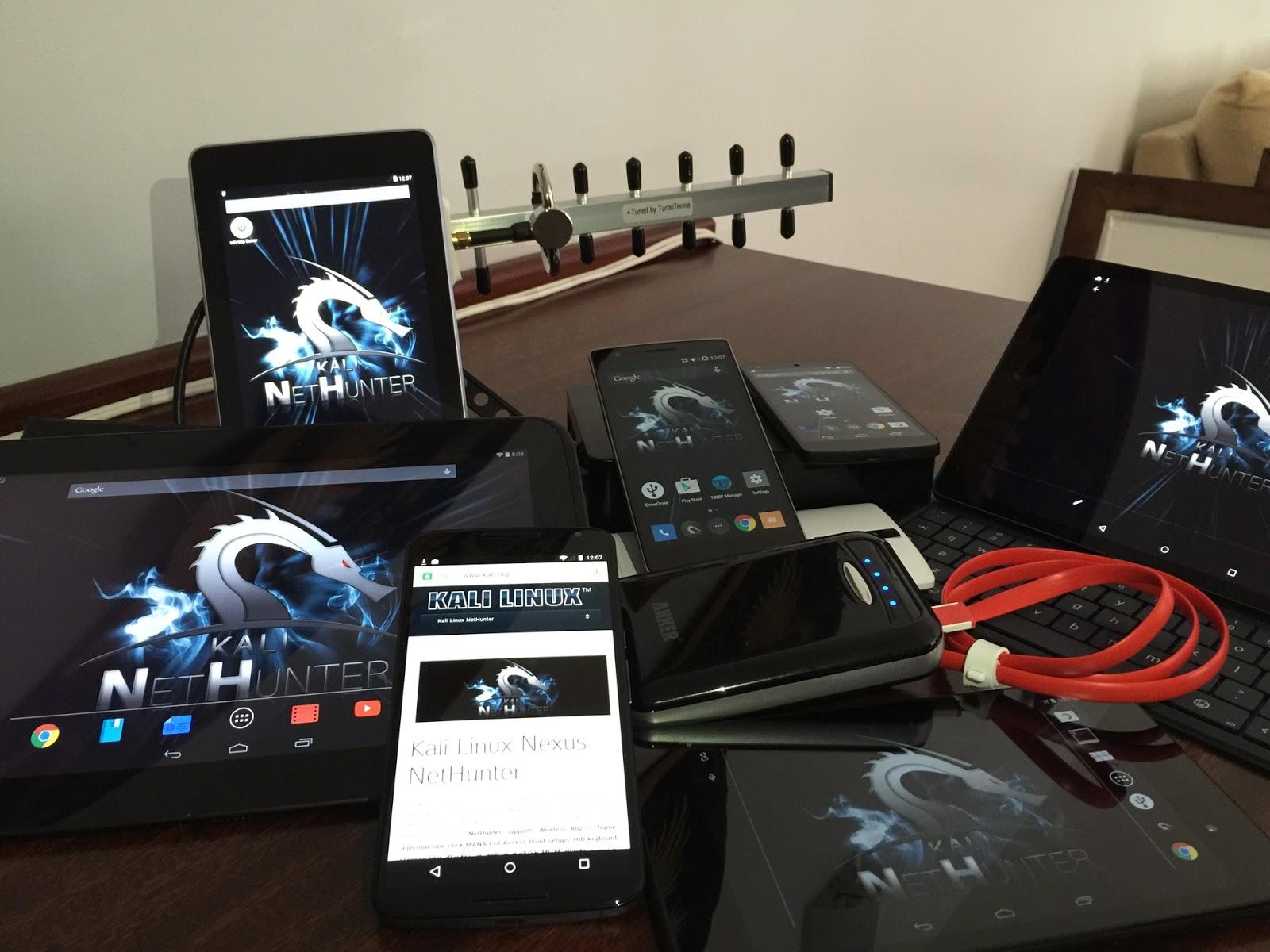 Kali Linux на смартфон
